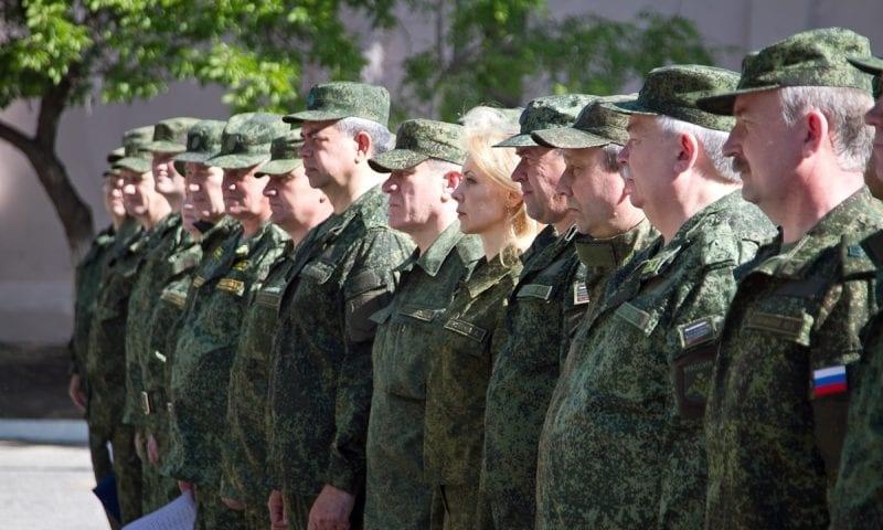 Путин объявил призыв на военные сборы