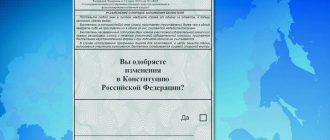 В России только один регион проголосовал против поправок в Конституцию