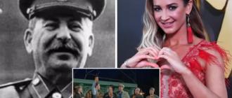 Ольга Бузова сыграла в спектакле об Иосифе Сталине
